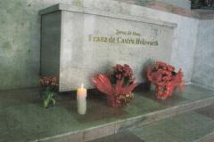 Franz-de-Castro Holzwarth-Tumulo attuale