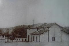 1940. LEANDRO FERREIRA. MG. ANTIGA IGREJA DE SÃO SEBASTIÃO