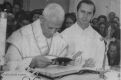 1969. ALVES – BOM DESPACHO.MG. MISSA PRESIDIDA PELO SERVO DE DEUS E CONCELEBRADA PELO PADRE JAYME LOPES CANÇADO