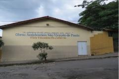 2014. DIVINÓPOLIS.MG. OBRAS ASSISTENCIAIS SÃO VICENTE DE PAULO. VILA VICENTINA PADRE LIBÉRIO