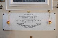 Macrina-Raparelli-Sepoltura