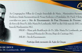 (Italiano) Chiusura Inchiesta Diocesana di Julio Maria de Lombaerde