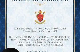 (Italiano) Chiusura dell'Inchiesta Diocesana Alderigi Torriani Santa Rita de Caldas